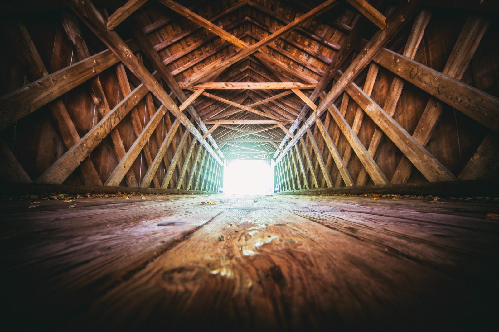 Covered Bridge by Jon Armstrong | Blurbomat.com