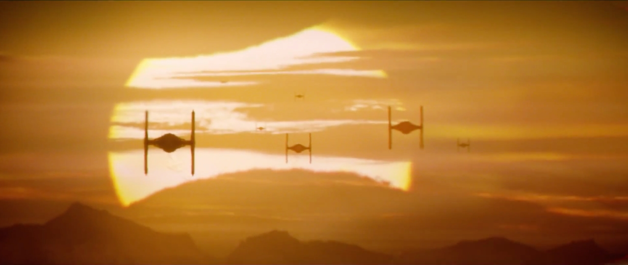 TIE Fighters approaching | Blurbomat.com
