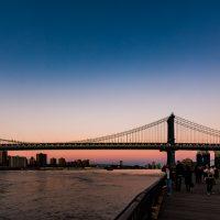 DUMBO boardwalk Manhattan Bridge